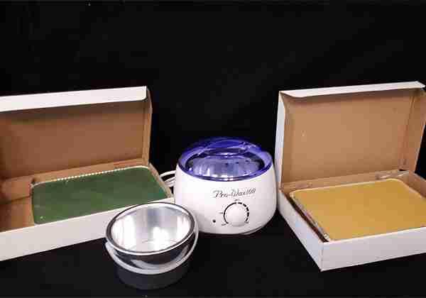 Pro wax szett Tálcás gyantákkal