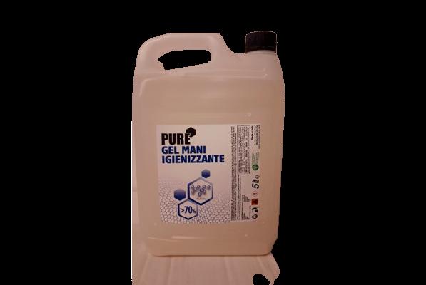 Kézfertőtlenítő gél 5 liter